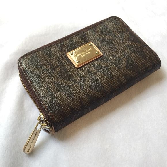 60e59e15c6400d 🧡SALE🧡MICHAEL KORS keychain wallet card holder. M_5bc115bb409c15b287962459